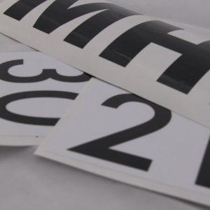 MOD & Naam Stickers